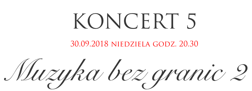 Festiwal Perła Baroku - Muzyka bez granic 2