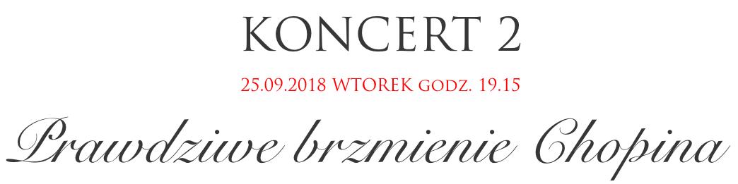 Festiwal Perła Baroku - Prawdziwe brzmienie Chopina
