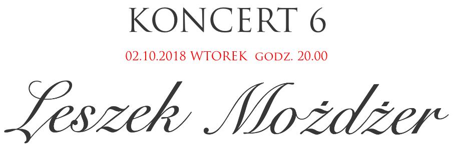 Festiwal Perła Baroku - Leszek Moźdżer