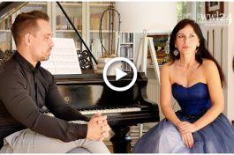 Koncert Perla Baroku - Wywiad z Anną Szarek