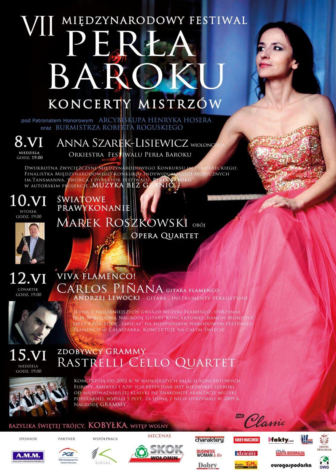 VII Miedzynarodowy Festiwal Perła Baroku - Koncerty Mistrzów 2014